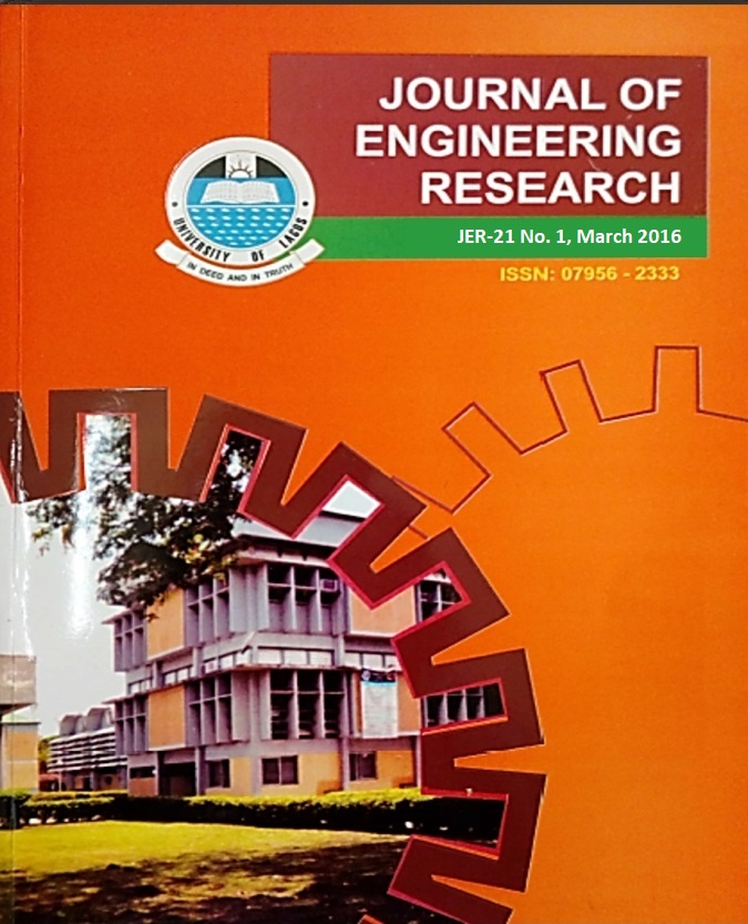 Journal of Engineering Research vol.21(1)